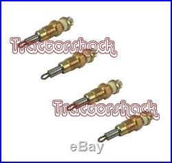 International Harvester Tractor Heater Glow Plug Set 444,354,374, B250, B275, B414