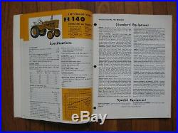 International Industrial Equipment Buyers Guide Cub Cadet 560 660 T-340 Tractor