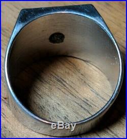 Lot Of Vintage International Harvester Employee Rings & Tie Clip / Tractor / IH