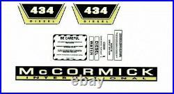 McCORMICK INTERNATIONAL 434 TRACTOR DECAL SET LARGE McCORMICK VERSION