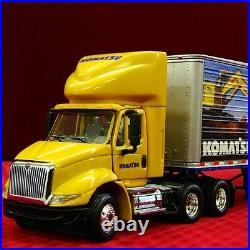 NEW / Sold-Out KOMATSU IH 8600 TRACTOR TRAILER 1/64 FIRST GEAR 69-0018 DCP
