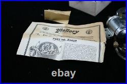 NOS MALLORY Dual POINT Conversion CHEVY GMC 6 Mack International Nash HOT ROD I6
