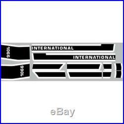 New 1066 International Harvester Tractor Late Model Hood Decal Kit Quality