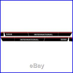 New 5288 International Harvester Tractor Hood Decal Kit High Quality With Cab