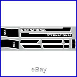 New 966 Late International Harvester Farmall Tractor Hood Decal Kit Quality