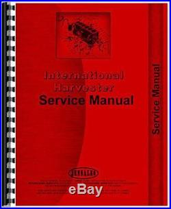 New International Harvester 1456 Tractor Service Manual