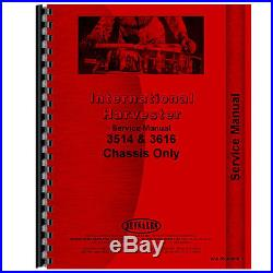 New International Harvester 3514 Tractor Chassis Service Manual