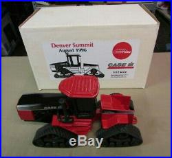Nice Case IH Ertl QuadTrac Steiger AG tractor 1/32 scale NIB Denver Summit 1996