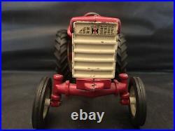 Original 1958 Ertl International 240 Utility tractor Fast Hitch 1/16 Scale