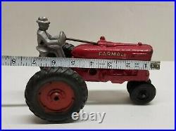 Rare Antique Arcade International McCormick-Deering Farmall M Toy Tractor RARE