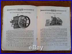 Rare Ihc Ih International Harvester Gasoline Engines Catalog Advertising Tractor