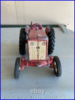 Rare Vintage International 404 Tractor 1/16 Ih Wf 3 Pt Hitch Metal Wheel Rims