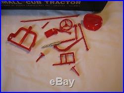 Rare Vintage International Harvester Farmall Cub Tractor Model 1/16 Scale In Box