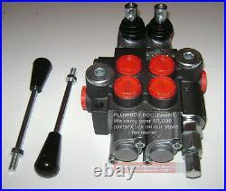 Sae Case IH Kubota John Deere Allis Ford Massey Hydraulic MONOBLOCK SPOOL VALVE