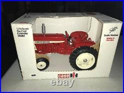 Scale Models Case International 606 1/16 scale Die Cast Farm Progress Show 1991