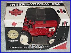 Sm 1/16 Ih Farmall 684 Diesel Ontario Canada Tractor 1997 Se