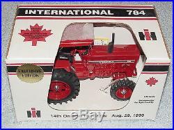 Sm 1/16 Ih Farmall 784 Diesel Ontario Canada Tractor 1999 Se