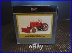 SpecCast IH International Harvester Farmall Cub Tractor w Blade 1/16 ZJD 1648