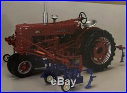 Spec Cast International Harvester Farmall Tractor Die Cast 116 4 Row Cultivator