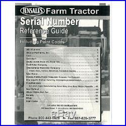 Tractor Manual Kit For Case IH International Harvester 1468 1566 1568 4586