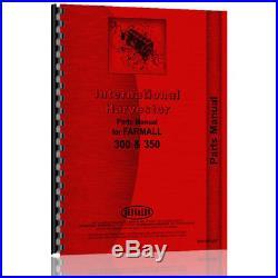 Tractor Manual Kit For Case IH International harvester 300 500