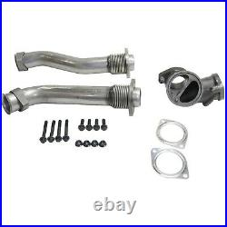Turbocharger Exhaust Up Pipe Kit Fits 99-03 Ford Super Duty 7.3L Powerstroke DSL