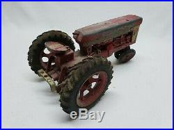 VINTAGE ERTL IH FARMALL 560 WithIH McCORMICK TRACTOR Fast Hitch 3 PT PLOW Original