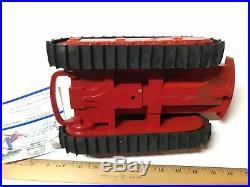 Vintage 1950s Product Miniature International TD 24 Diesel Crawler Toy Dozer