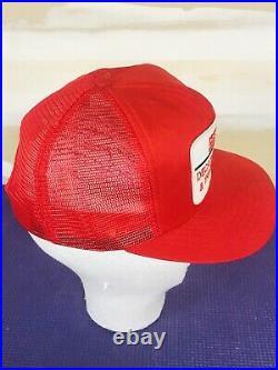 Vintage CASE International Harvester IH Dealer Swingster Mesh Snapback Hat Cap