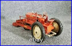 Vintage Earlie Tru-scale Tractor With Front Bucket Die Cast Rare! 1952 Only