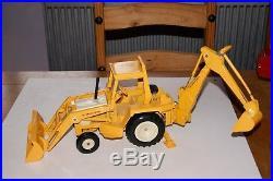 Vintage Ertl 116 International Harvester Backhoe Tractor Loader Ertl 472 1970