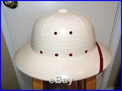Vintage International Harvester IH Tractor Dealer Promo Safari Pith Helmet Hat