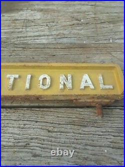 Vintage International Harvester, Ih Farmall Tractor Cast Emblem Part # 378496 R1