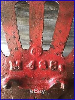 Vintage International Harvester Tractor Cast Iron Seat