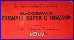 Vintage Lakone International Harvester Farmall Super C Toy Tractor Box IH NIB