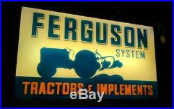 Vintage Massey Ferguson Sign, Ford Tractor, International Harvester