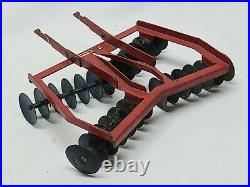 Vintage McCormick Tractor Disc / Disk / Fast / Quick Hitch Eska Ertl Farm Toy