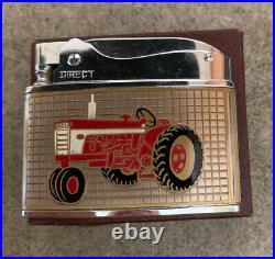 Vintage NOS International Harvester Tractor Advertising Lighter Texas Dealer