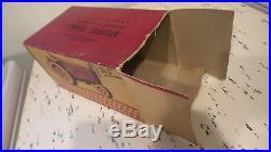 Vintage Plastic INTERNATIONAL HARVESTER FARMALL TRACTOR in ORIGINAL BOX