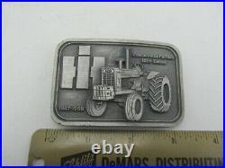 Vintage Rare IH International Harvester Farmall 1256 Diesel Tractor Belt Buckle