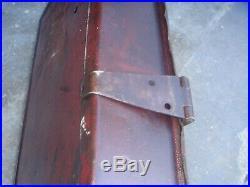 Vintage Rare IH Tractor Binder International Harvester Toolbox Hang it as Sign