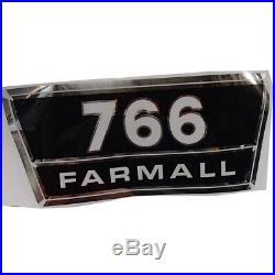 Vinyl Hood Decal Kit For Farmall International Harvester 766 Tractor
