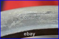 Vtg 1946 International Harvester Heavy Truck 20 Split Rim IH Goodyear Wheel OEM