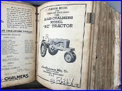 Vtg Farm Metal IH International Harvester Case Tractor Dealership Manual Sign