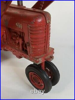 Vtg McCormick IH Farmall 400 Split Rim Narrow Front Tractor by Ertl / Eska 1/16