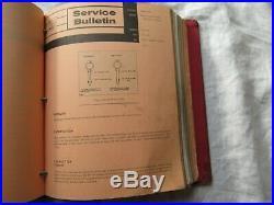 White Cockshutt Oliver tractor service bulletins 1650 1850 1950 2150 1550 1800